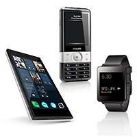 Смартфоны, мобильные телефоны.