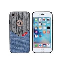 (1008814) Накладка REMAX Sinche series для iPhone 7 (grey+jeans) - фото 10069