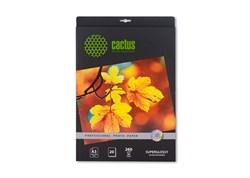 (1002069) Фотобумага Cactus CS-SMA626020 Professional шелковисто-матовая (сатин) 10x15 260 г/м2 20 листов - фото 10579