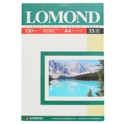 (1001173) Lomond Бумага глянцевая односторонняя, А4, 130 г/ м2, 50 листов - фото 11038