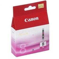 (29551)  Картридж струйный Canon CLI-8M пурпурный для принтеров Canon PIXMA MP800/ MP500/ iP6600D/ iP5200/ iP5200R/ iP4200 . - фото 11042