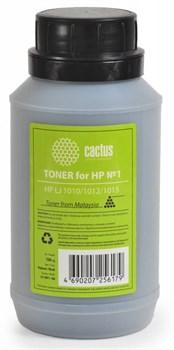 (1003267) Тонер для принтера Cactus CS-THP1-100 черный (флакон 100гр) HP LJ 1010/1012/1015 подходит для 2612a - фото 11170