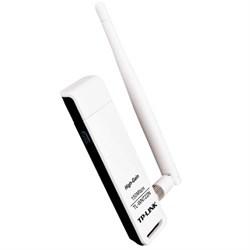 (83267) Беспроводной адаптер TP-LINK TL-WN722N/ C USB2.0, 802.11b/ g/ n, до 150 Мбит/ с, со съемной антенной 4 dBi, с USB-крэдлом - фото 11244