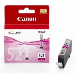 (62285)  Картридж струйный Canon CLI-521M пурпурный для принтеров Canon PIXMA IP3600/ MP540/ MP620/ IP4600/ MP630/ MP980 - фото 11293