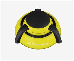 (1004682) Портативаня подставка  для ноутбука Thermaltake GOrb II yellow 70mm*2 FAN/blue LED/yellow - фото 11391