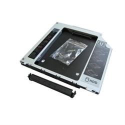 """(102246)  Шасси для 2.5"""" SATA HDD Espada SS95U универсальный (для установки в SATA отсек оптического привода ноутбука Slim 9.5mm) - фото 11395"""