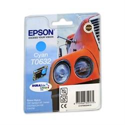 (1006829) Картридж струйный Epson C13T06324A голубой для Epson C67/ C87/ CX3700/ CX4100/ CX4700 - фото 11794