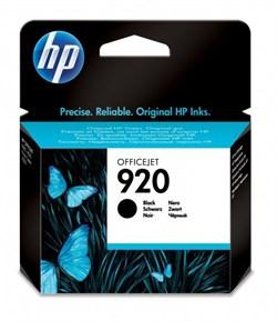 (75387) Картридж струйный HP №920 черный для принтеров HP Officejet, 10мл - фото 12017