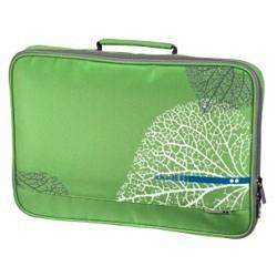 (3330827) Чехол с ручкой для ноутбука aha: VEIN, 15.6'' (40 см), зеленый, Hama [OhN] - фото 12261