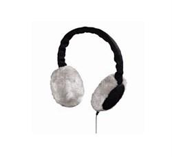 """(1004197) Гарнитура Hama H-109235 Earmuff для моб.тел  утепл.""""вязаные"""" наушники 3.5 мм Jack кабель 1.2 м черн - фото 12426"""