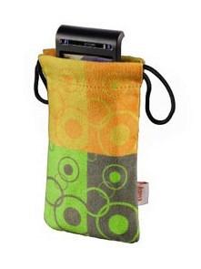 (1002162) Чехол для мобильного телефона Hama Super Bag yellow/green (H-103494) - фото 12437