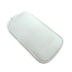 (1002780) Чехол Human Friends Business 5 White универсальный, подходит для Iphone 5\5S\5С\SE, кажзаменитель, ремешок-стропа, Business 5 White - фото 12447