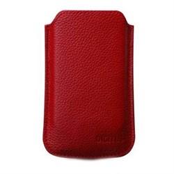 (1003223) Кожаный чехол для iPhone4 & iPod Touch DIGITUS DA-14007 красный - фото 12449