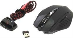 (1005881) Мышь A4 Bloody Warrior RT7 черный оптическая (4000dpi) беспроводная USB2.0 игровая (9but) - фото 12586
