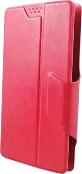 """(1011815) Универсальный чехол-флип Smarterra SlideUP Frame Размер E: 5,3""""-5,6"""" (красный ) - фото 13590"""