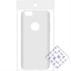 (1010082) Накладка силиконовая для iPhone 6/6S (white) техупаковка - фото 6141