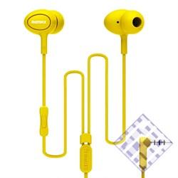 (1010112) Наушники с микрофоном REMAX RM-515 (yellow) - фото 6160