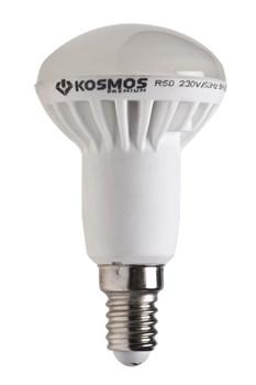 (1010600) Светодиодная лампа Космос рефлектор R50 7Вт Е14 230v 3000K (10)(80) - фото 6615