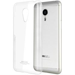 (1009362) Накладка силиконовая для Meizu MX5 прозрачная - фото 6840