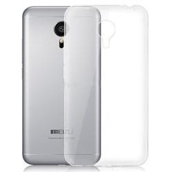 (1009363) Накладка силиконовая для Meizu MX6 Pro прозрачная - фото 6841