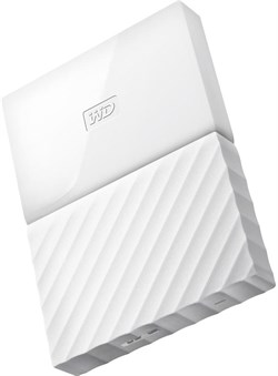 """(1009371) Жесткий диск WD Original USB 3.0 1Tb WDBBEX0010BWT-EEUE My Passport 2.5"""" белый - фото 6852"""