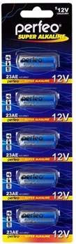 (1009682) Батарейка Perfeo 23AE/5BL Super Alkaline   1шт - фото 7238