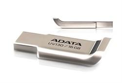 (122359) Накопитель USB Flash  16Gb ADATA UV130 (AUV130-16G-RGD), USB2.0, Золотисто-палевый, RTL - фото 7282