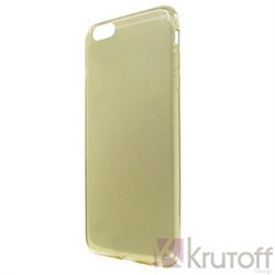 (1008823) Накладка силиконовая для iPhone 7 прозрачно-золотая - фото 7319