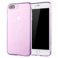 (1008824) Накладка силиконовая NT для iPhone 7 прозрачно-розовая - фото 7321