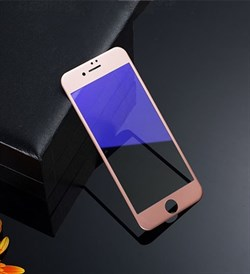(1008812) Стекло защитное 3D Curved Anti-Blue Ray REMAX для iPhone 7 (rose gold) - фото 7324