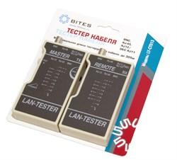 (1007778) Тестер кабеля 5bites LY-CT013 для UTP/STP RJ45, BNC, RJ11/12 - фото 7867