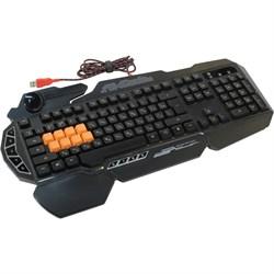 (1007438) Клавиатура A4 Bloody B318 черный USB Multimedia Gamer LED - фото 8283