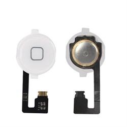 (1007549) Кнопка HOME в сборе с механизмом и шлейфом NT для Apple iPhone 6 белая - фото 8346