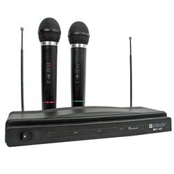 (188346)  Набор беспроводных микрофонов Defender MIC-155, черный - фото 8427