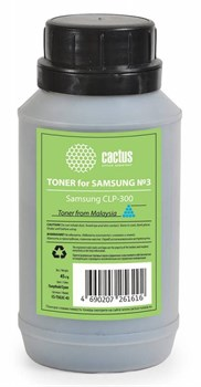 (1007017) Тонер для принтера Cactus CS-TSG3C-45 голубой (флакон 45гр) Samsung CLP-300 - фото 8800