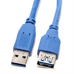 (117868)  Кабель удлинительный USB 3.0 (AM) -> USB3.0 (AF), 1.0m, 5bites (UC3011-010F) - фото 9438