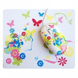 (1004051) Мышь сувенирная+ коврик CBR Fantasy, 1000 dpi, рисунок, USB, Fantasy - фото 9503