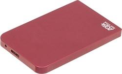 "(1004134) Внешний корпус AgeStar 3UB2O1 USB3.0 to 2.5""hdd SATA red - фото 9583"