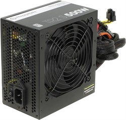 (1010347) Блок питания Thermaltake ATX 500W TR2 S TRS-500AH2NK 80+ (24+4+4pin) APFC 120mm fan 5xSATA RTL - фото 9770