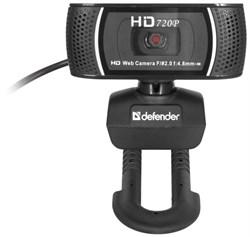 (1009319) Веб-камера Defender G-Lens 2597, 2Mpx, HD720p, автофокус, слежение за лицом - фото 9811