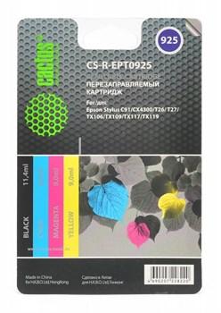 (1001552) Комплект перезаправляемых картриджей CACTUS CS-R-EPT0925 для Epson Stylus C91/ CX4300/ T26 - фото 9962