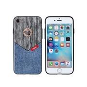 (1008814) Накладка REMAX Sinche series для iPhone 7 (grey+jeans)
