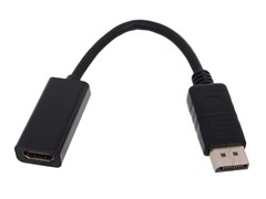 (143982)  Переходник DisplayPort (M) -> HDMI (F), Telecom (TA553), 0.2m