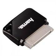 (3330716) Адаптер 30 pin-micro USB для Apple iPhone/ iPod, черный, Hama [ObG]