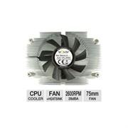 (104827) Вентилятор GELID Slim Silence A-Plus (CC-SSILENCE-AP), ALL Socket AMD, низкопрофильный 28мм, вентилятор 65mm, PWM 1200 - 2600rpm, 27dBA