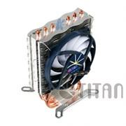(1003050) Вентилятор Titan Dragonfly3 Soc-AMD/1150/1155/1156/2011/ 4pin 5-29dB Al+Cu 130W 610g винты extreme-s
