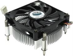 (84209) Вентилятор Socket 1156/ 1155 | Cooler Master DP6-8E5SB-PL-GP, TDP 82W, 4 pins, PWM,  Low profile 38mm