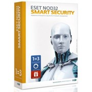 (1002124) ПО ESET NOD32 Антивирус + Bonus + расширенный функц - ун лиц на 1 год на 3ПК или прод на 20 мес, BOX