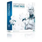 (1001683) ПО ESET NOD32 START PACK- базовый комплект безопасности компьютера,  лицензия на 1 год на 1ПК, BOX