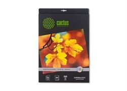 (1002069) Фотобумага Cactus CS-SMA626020 Professional шелковисто-матовая (сатин) 10x15 260 г/м2 20 листов